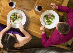 Единственная цель таких свиданий - поесть за чужой счёт